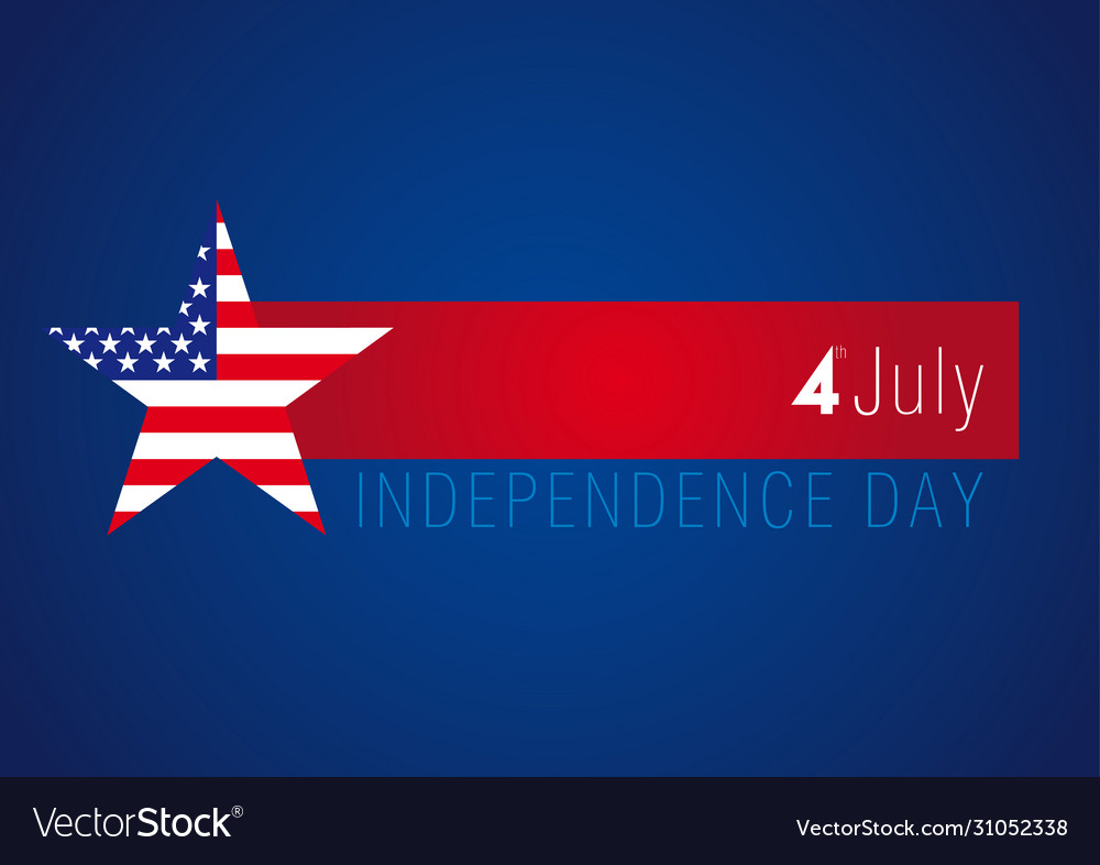 Independence day usa banner