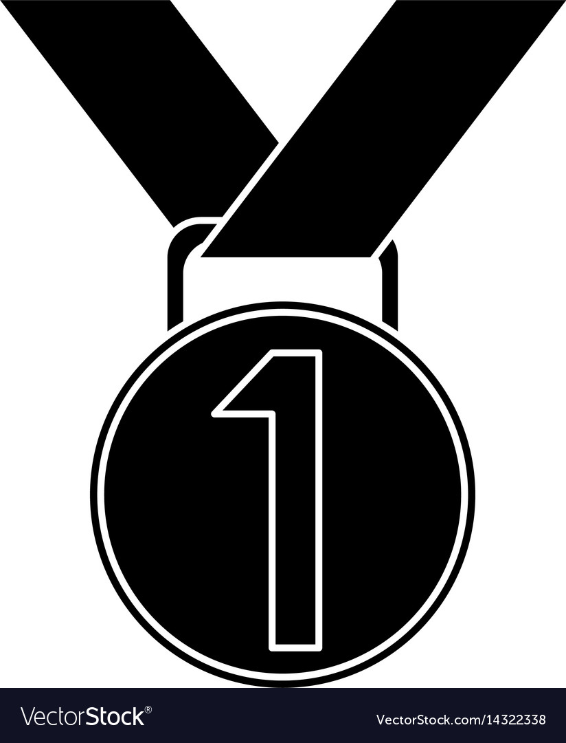 Medal award winner sport pictogram