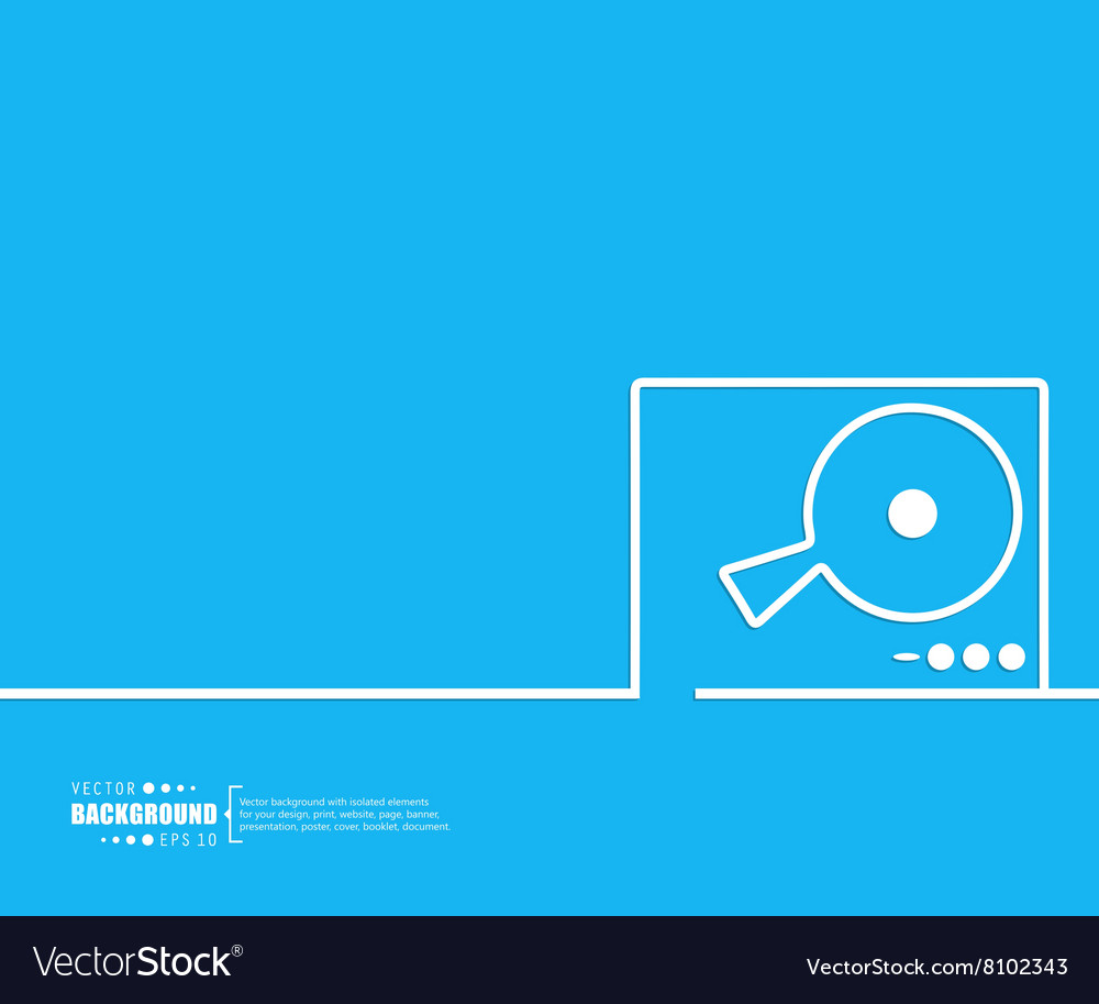Abstract creative concept background For