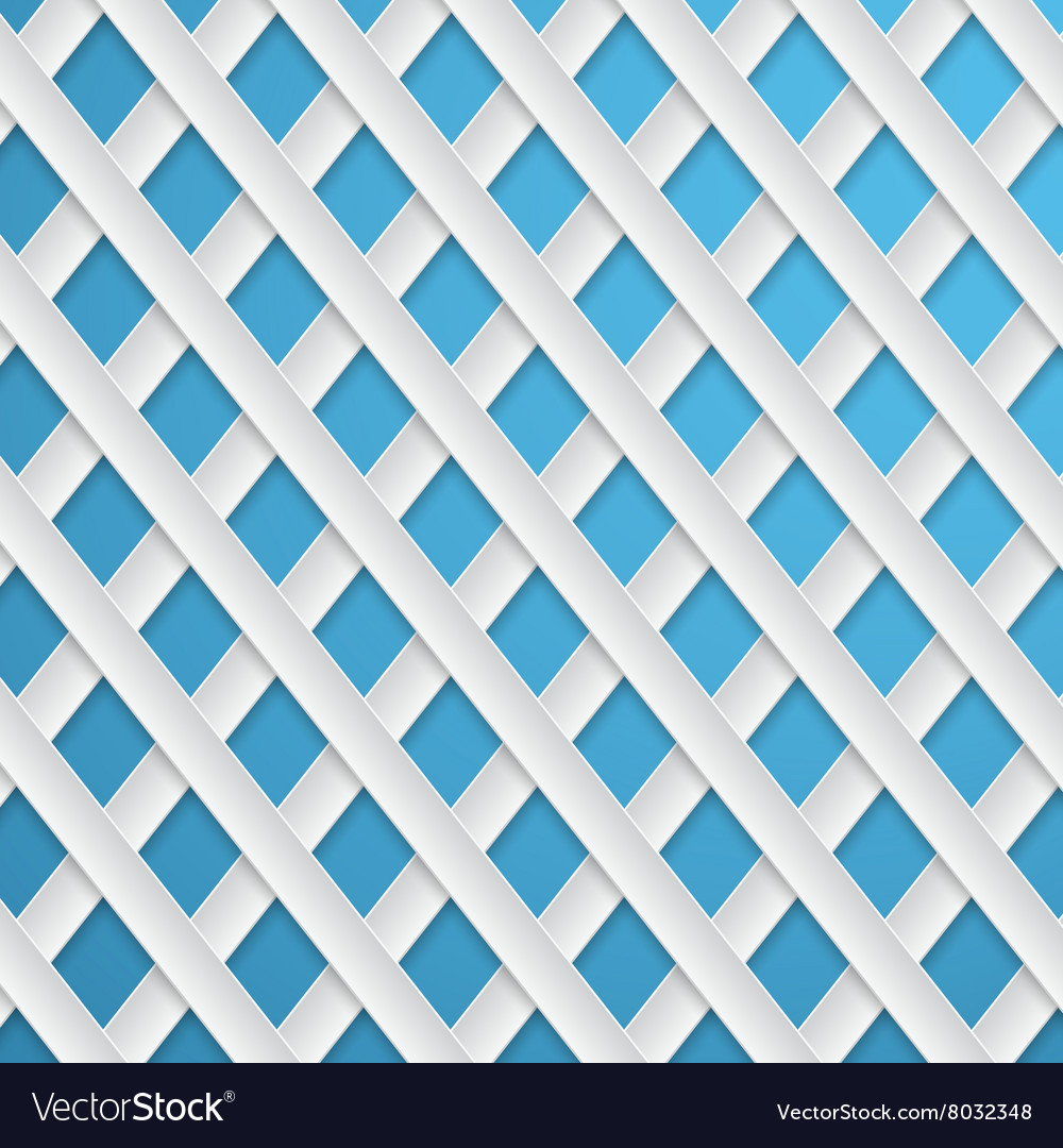 Abstract background paper strips on a blue
