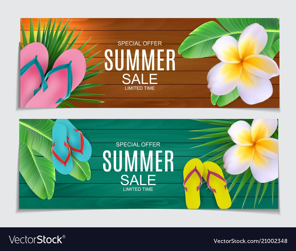 Abstract summer sale