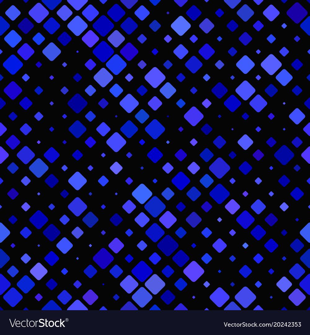 Abstract diagonal square pattern - tiled mosaic vector image
