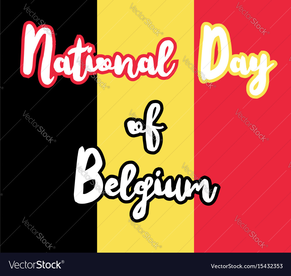 National day of belgium