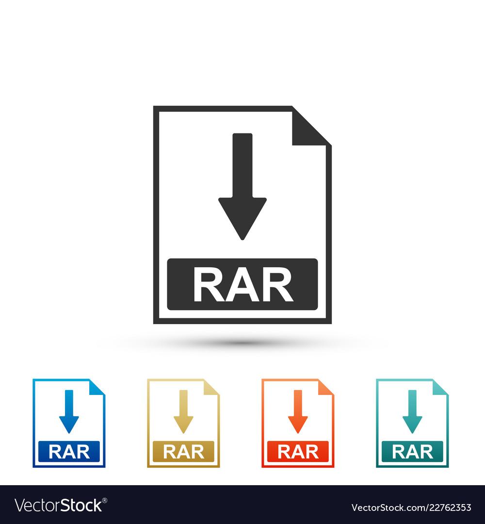 Rar icon | filetype iconset | graphicloads.