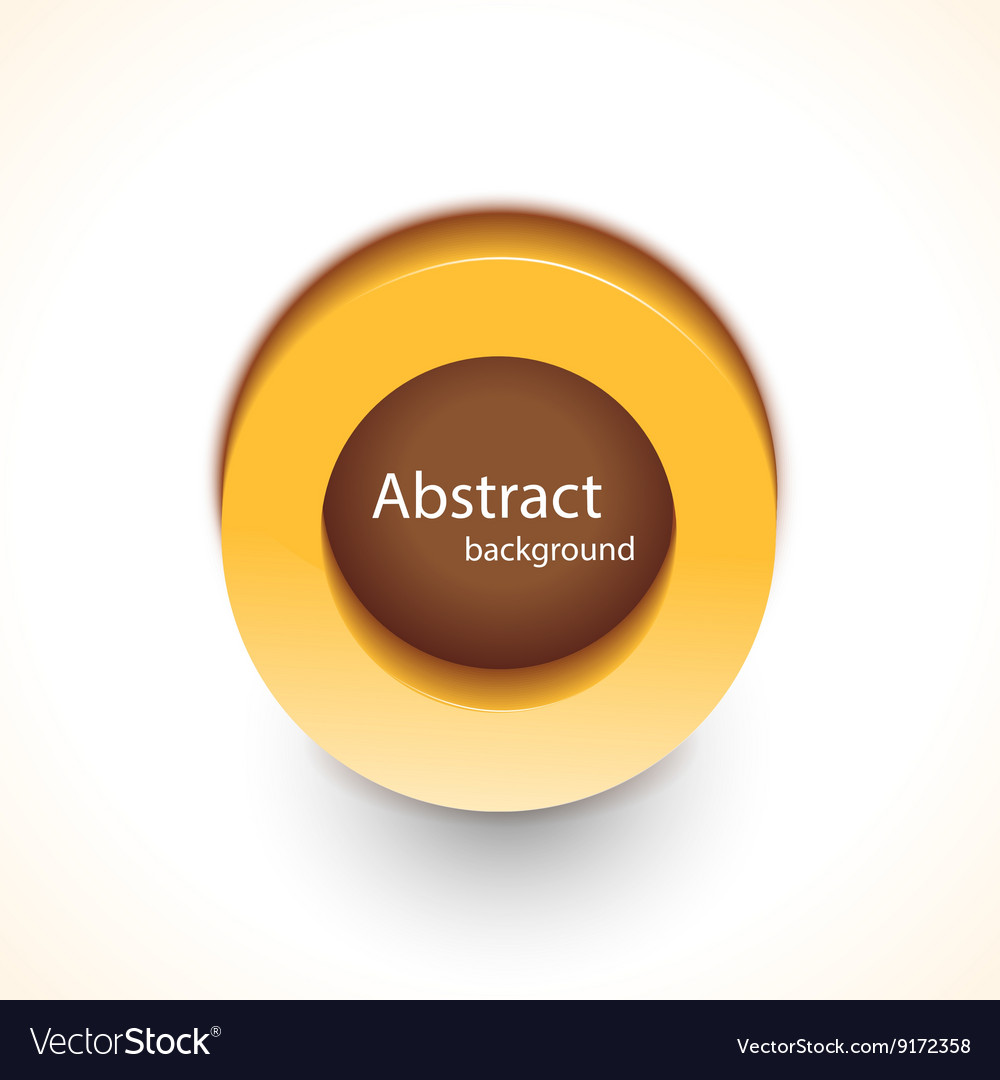 Abstract trendy background button for your