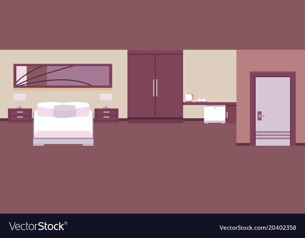 Interior hotel room