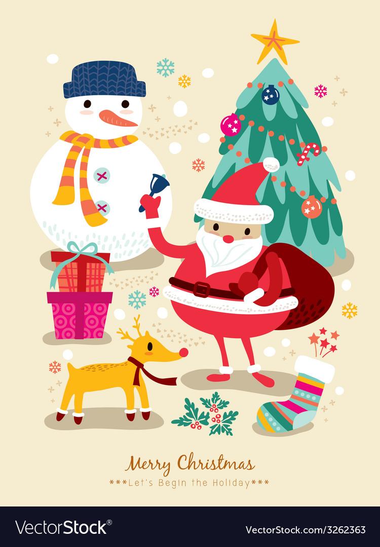 Christmas santa claus cartoons