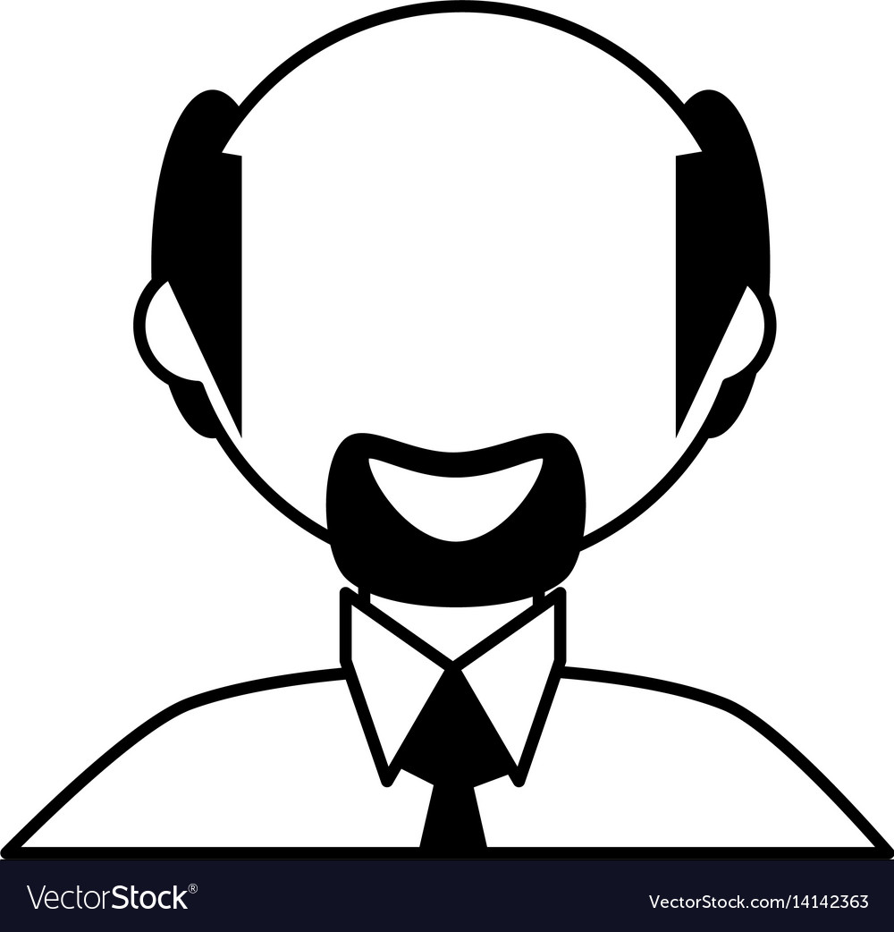 Man male father family outline vector image