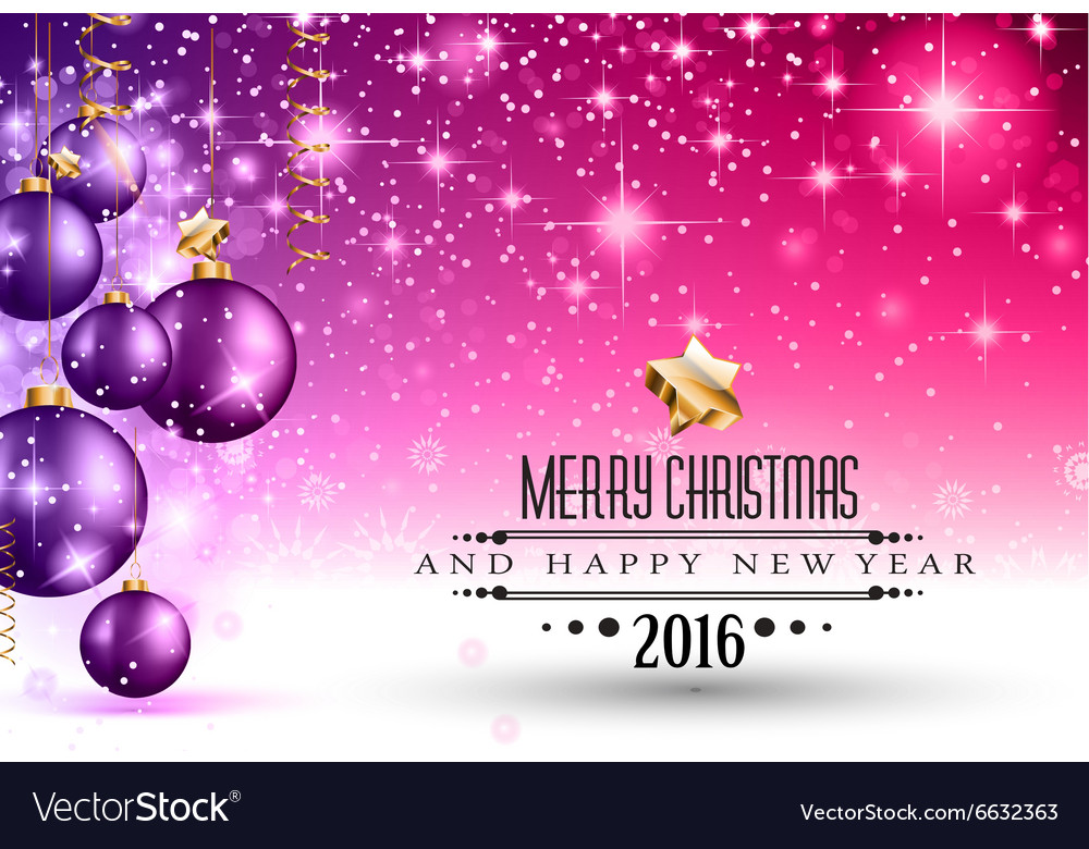 Merry Christmas Seasonal Background for your