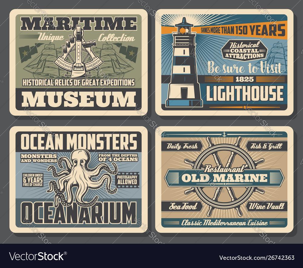 Nautical helm sailing ships marine lighthouse