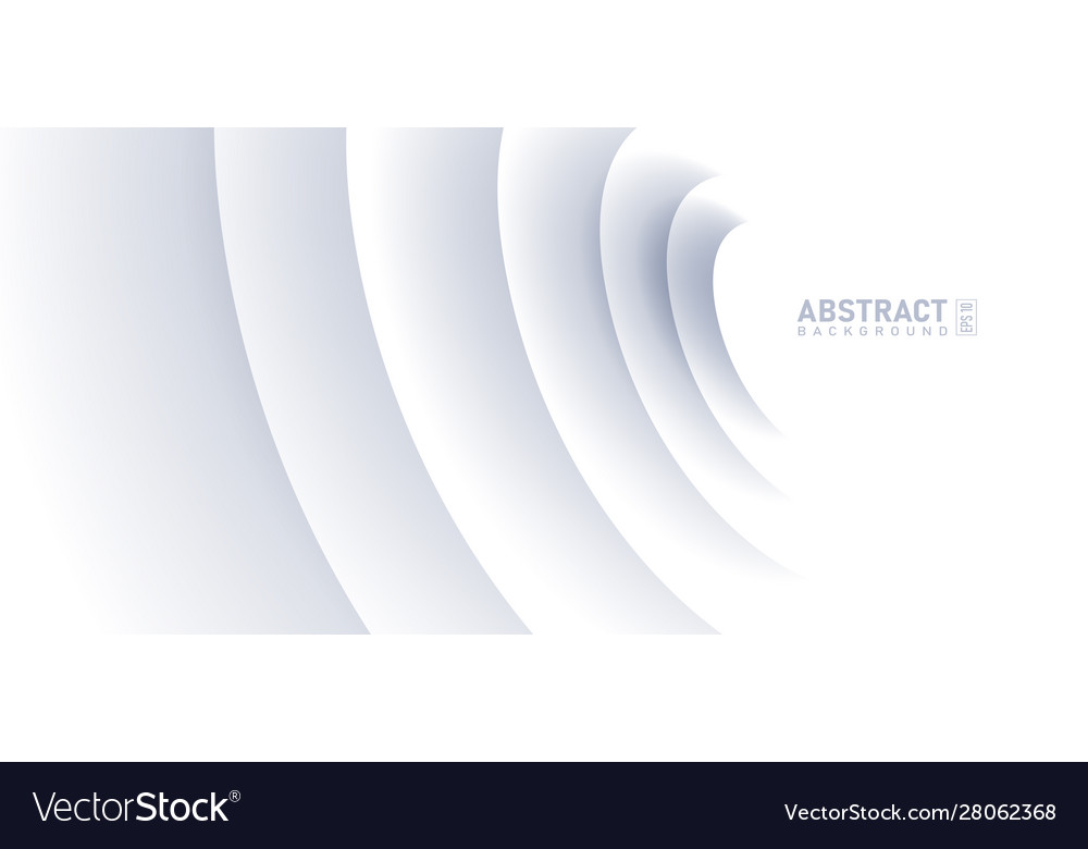 Abstract ripple effect on white background circle