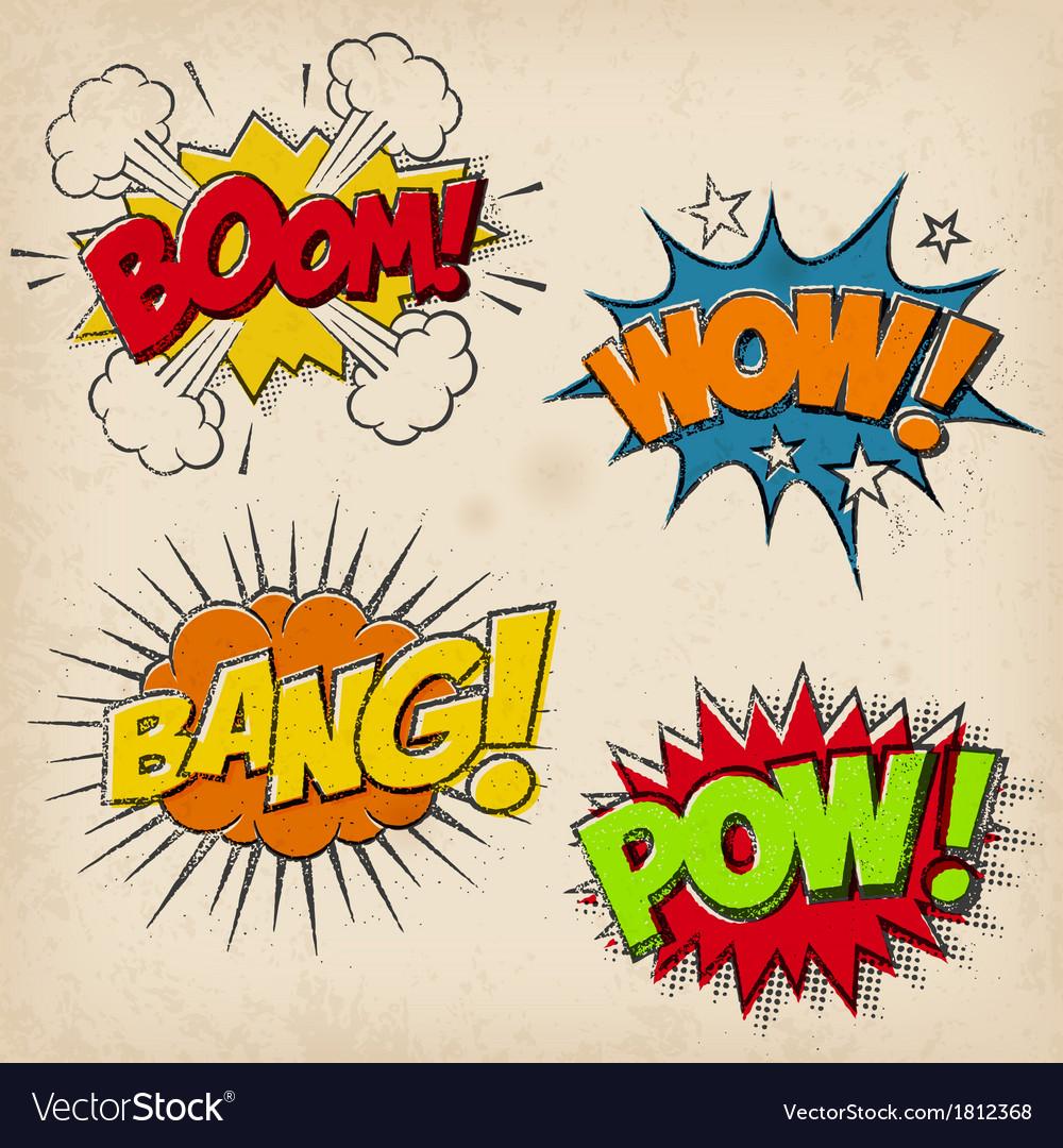 Grunge Cartoon Sound Effects Set 1