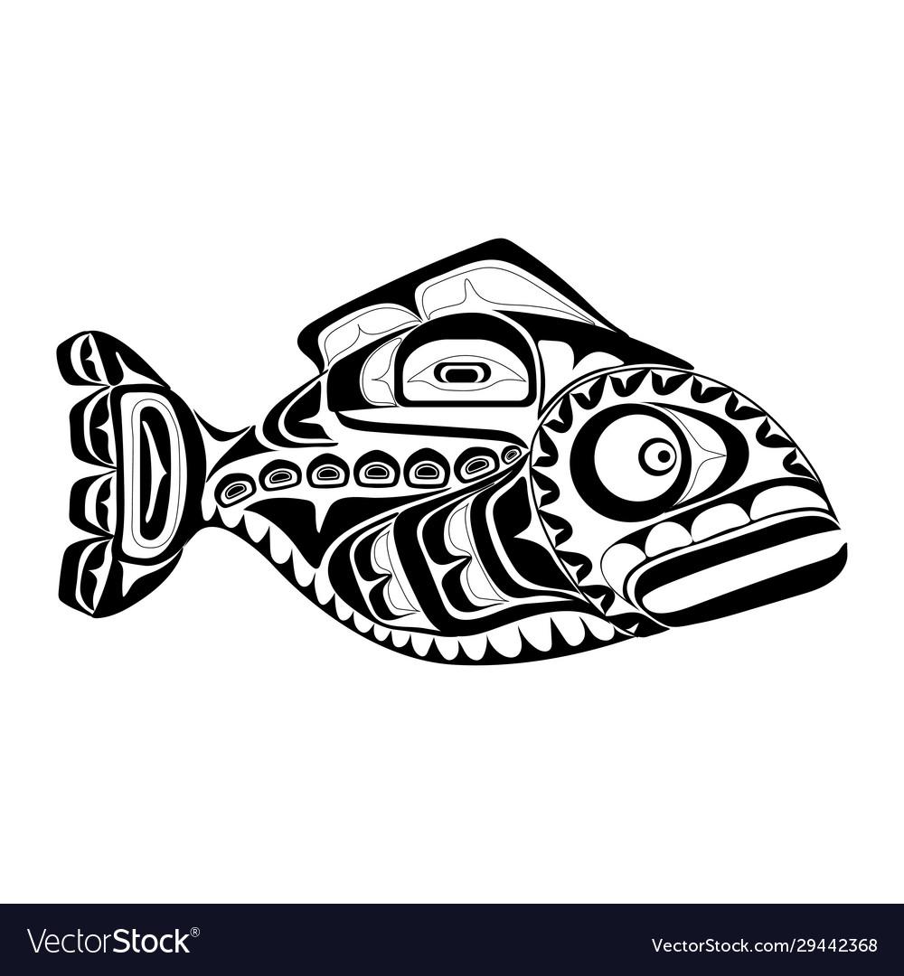Haida perch tattoo