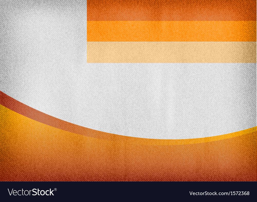 Template orange curve empty