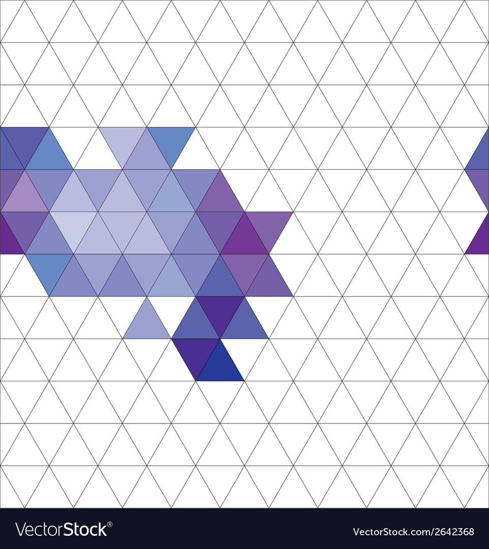Tile triangle pattern or flat background