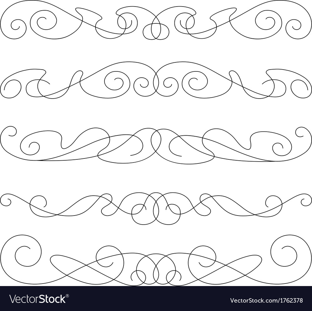Decorative elements border and page rules
