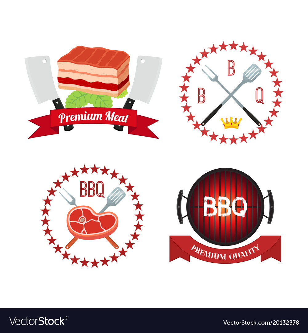 Meat barbecue grill icon bbq flat style