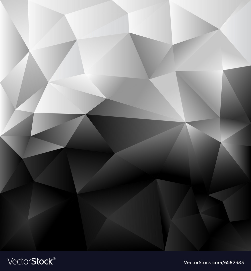 Background Abstract Polygon Black And White