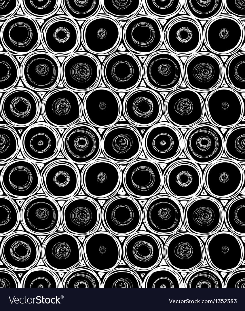 Round seamless vector image