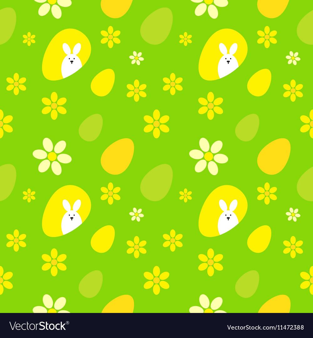 Easter egg background vector image