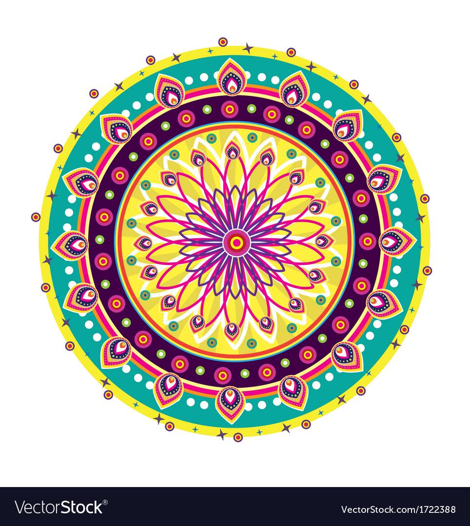 Indian medallion design