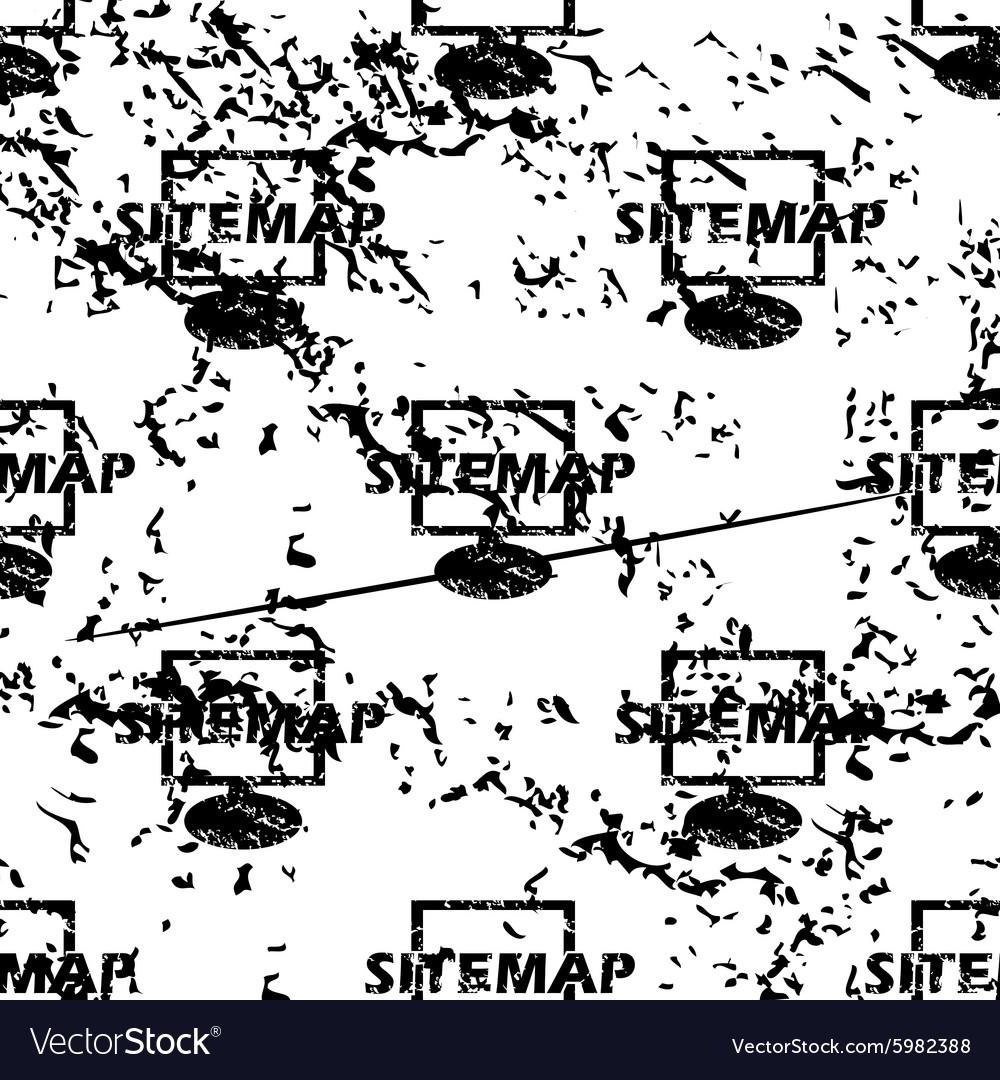 Sitemap pattern grunge monochrome