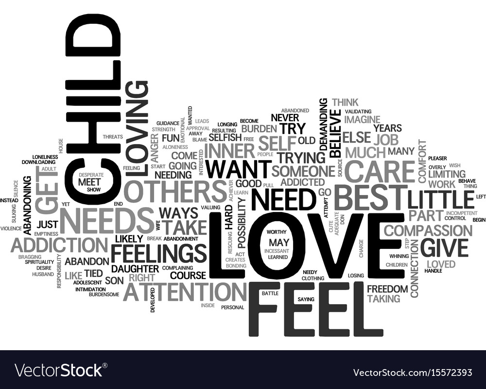 Are you love addicted text word cloud concept
