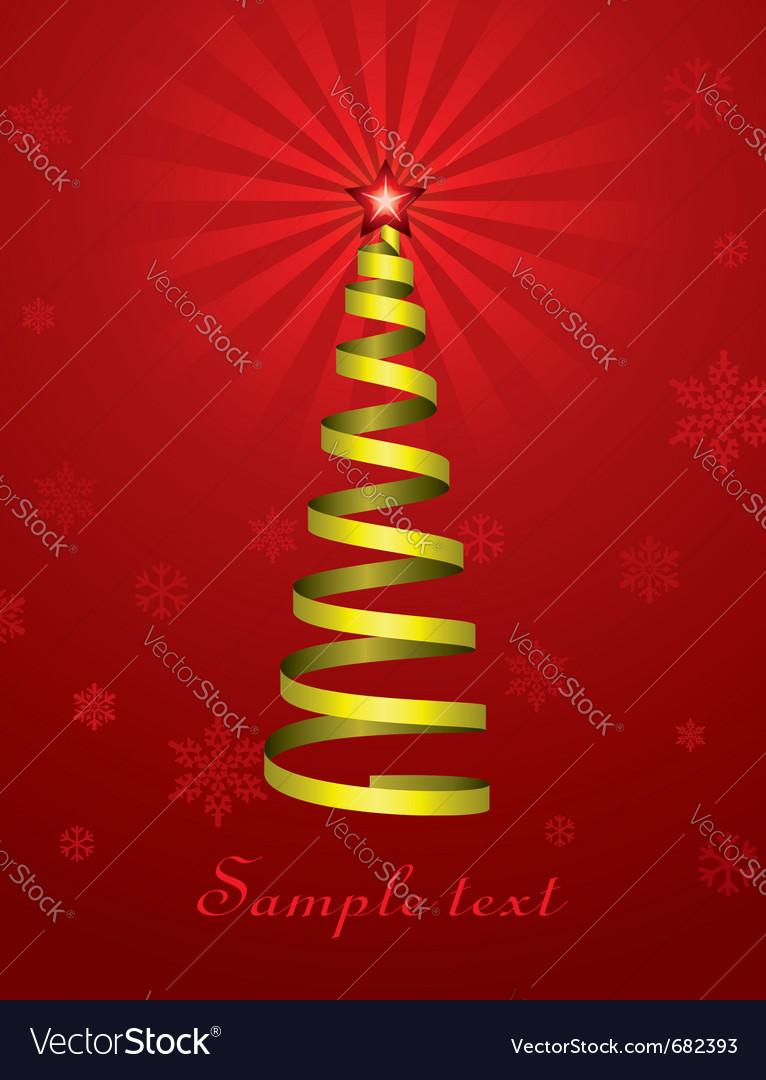 Christmas holiday tree