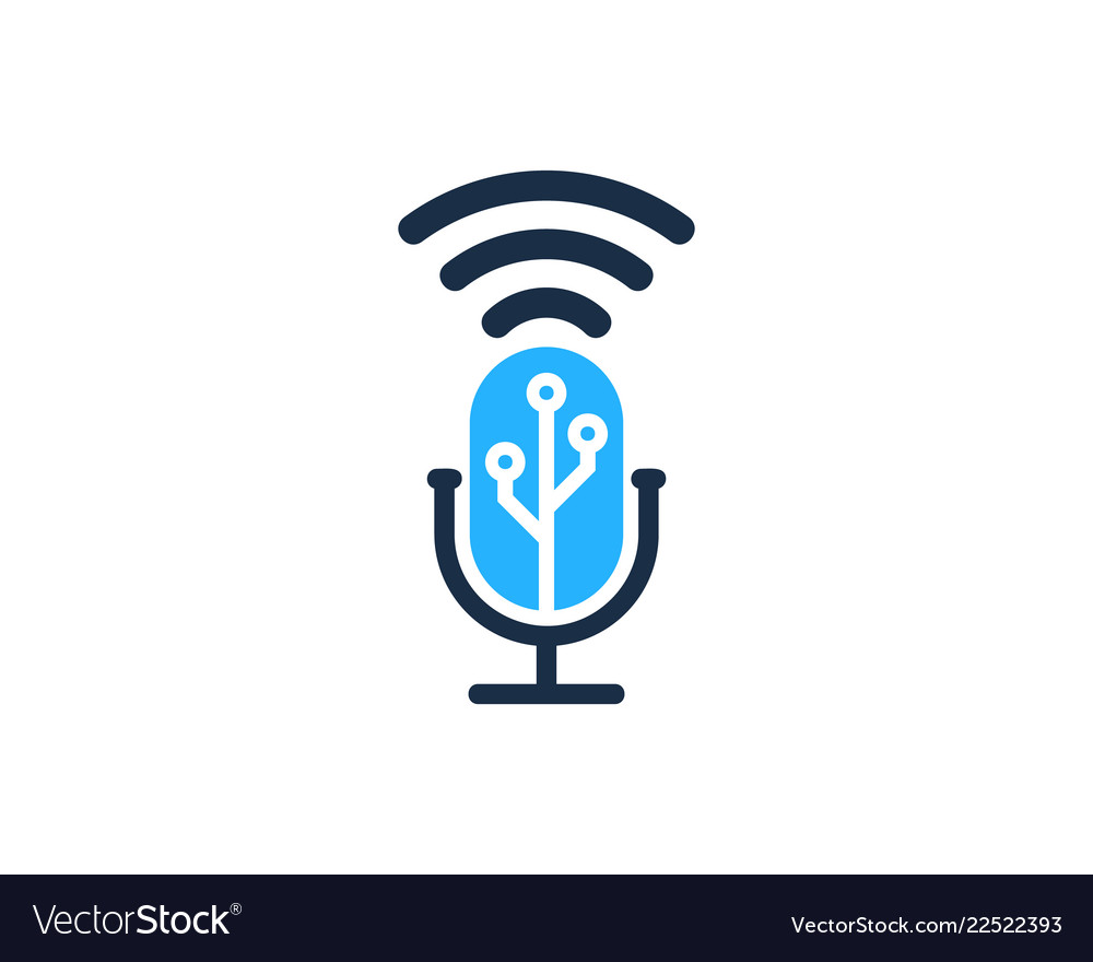 Digital Podcast Logo Icon Design Royalty Free Vector Image See more ideas about podcasts, this or that questions, radiolab. vectorstock