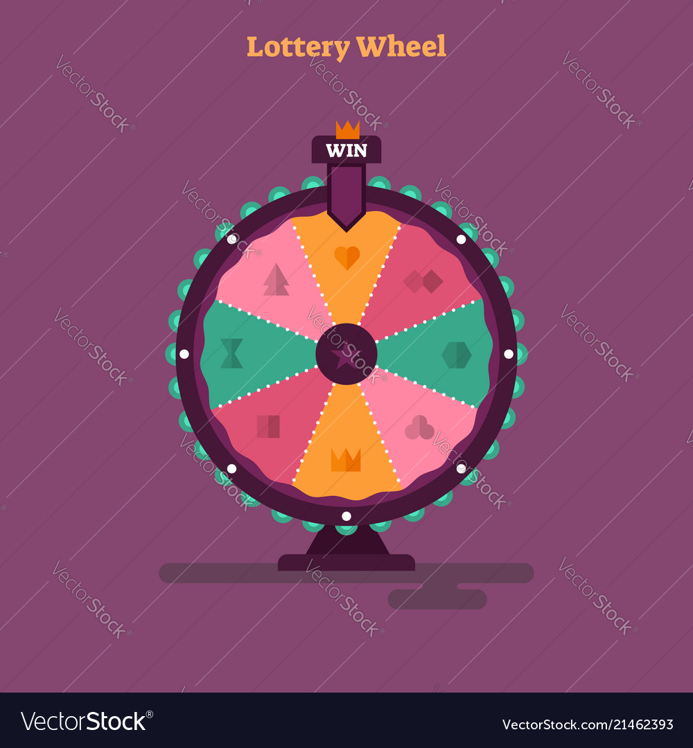 Lottery wheel gambling game