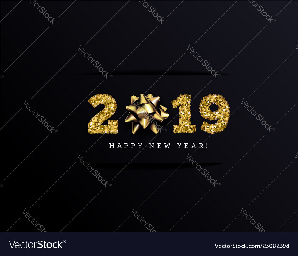 Congratulations on the 2019 happy new year