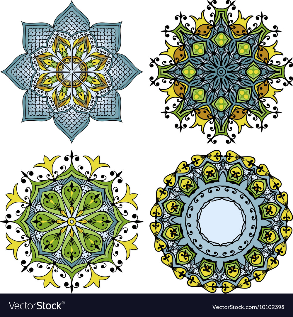 Doodle mandala s