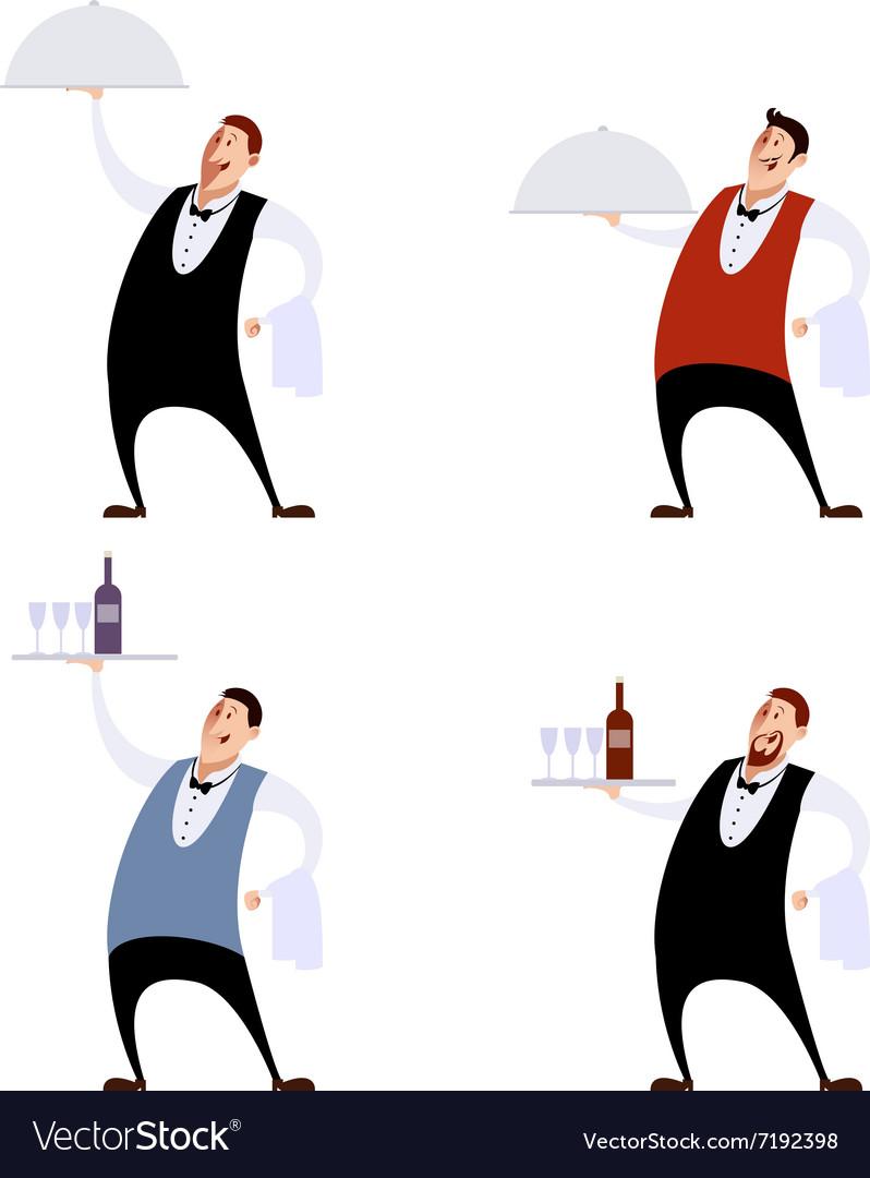 Set of waiters
