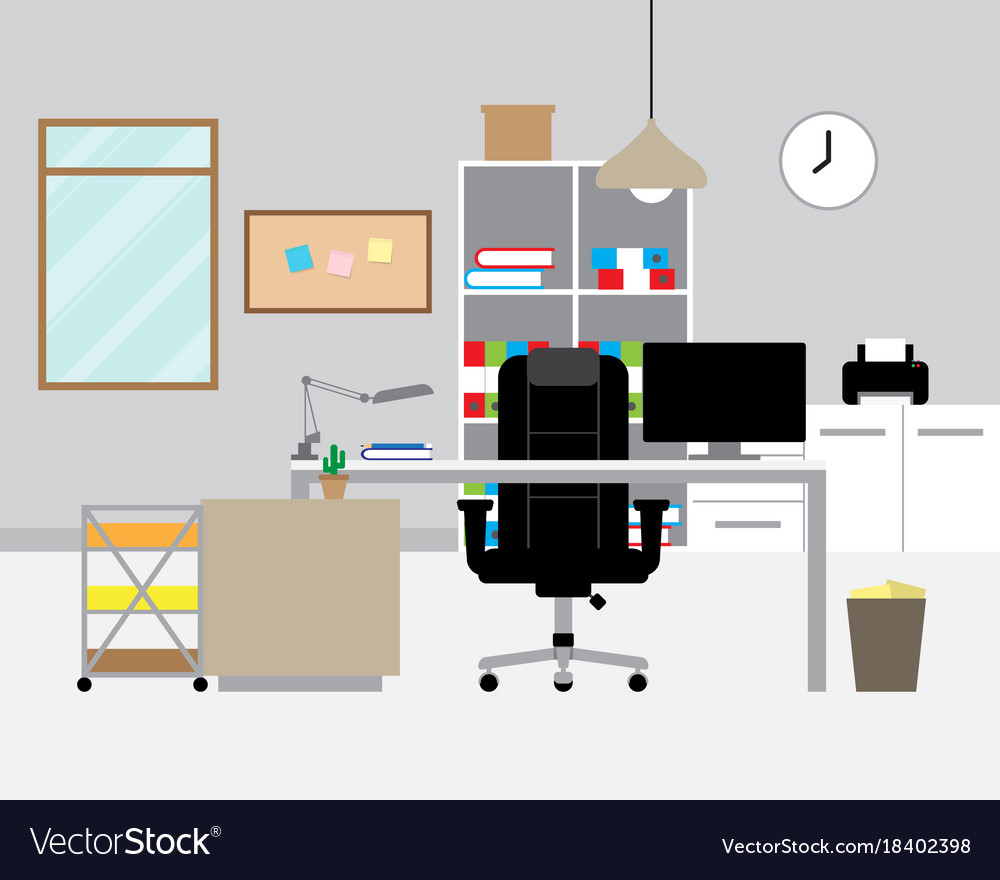 Workspace - modern office