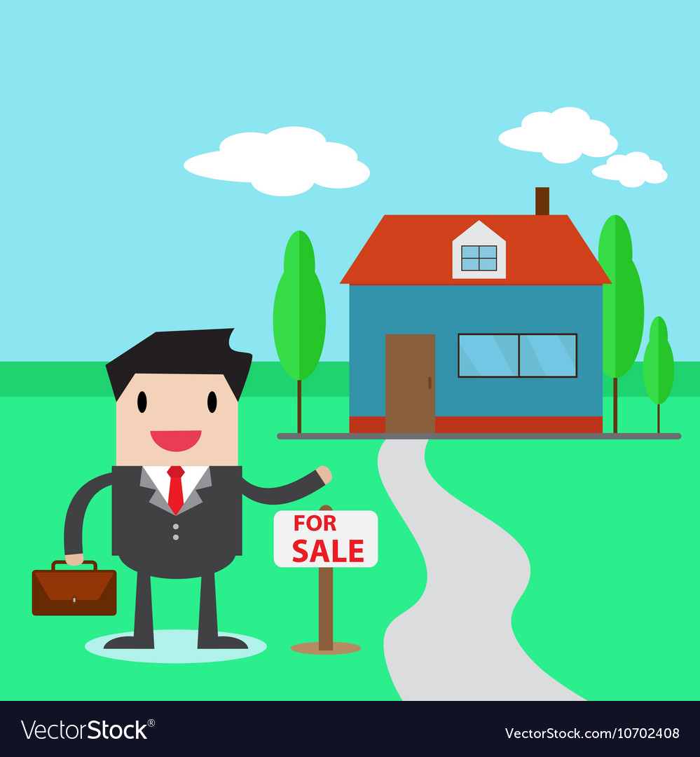 A real estate agent
