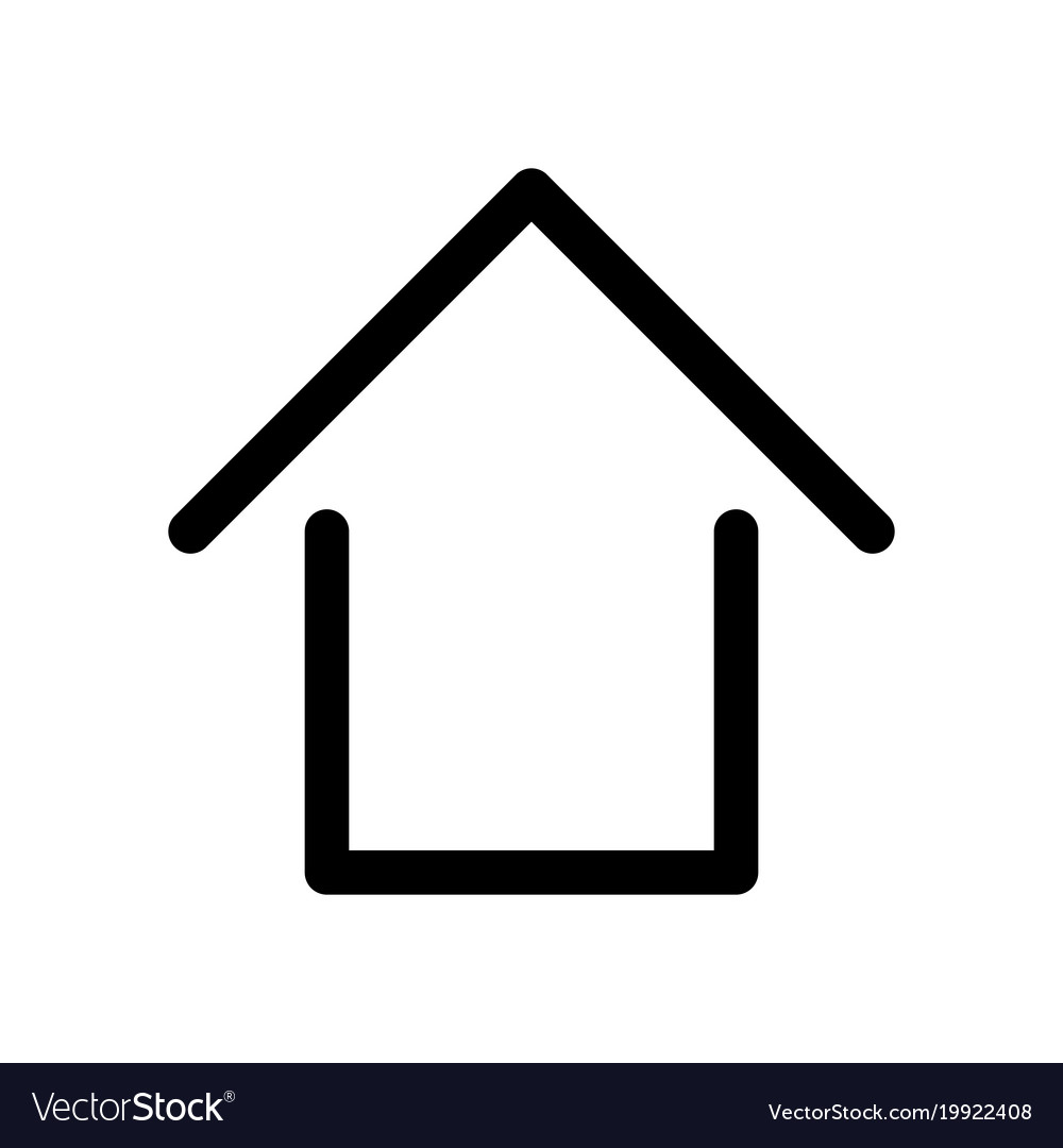 home sign symbol of house outline modern design vector image real estate symbols clipart free real estate clip art free downloads
