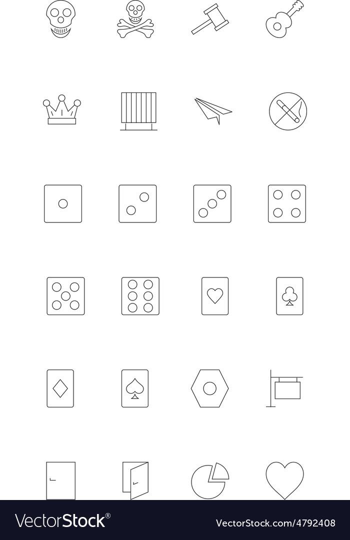 Line icons 14