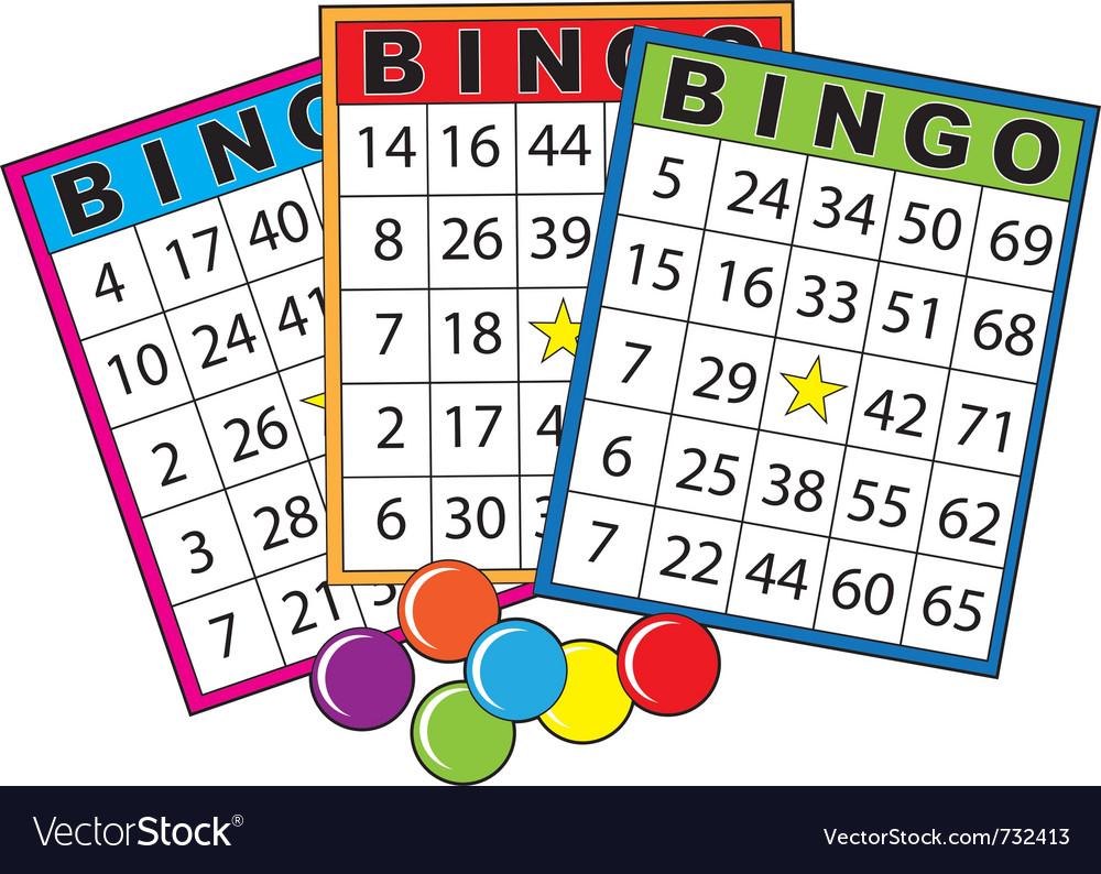 Bingo Cards Royalty Free Vector Image