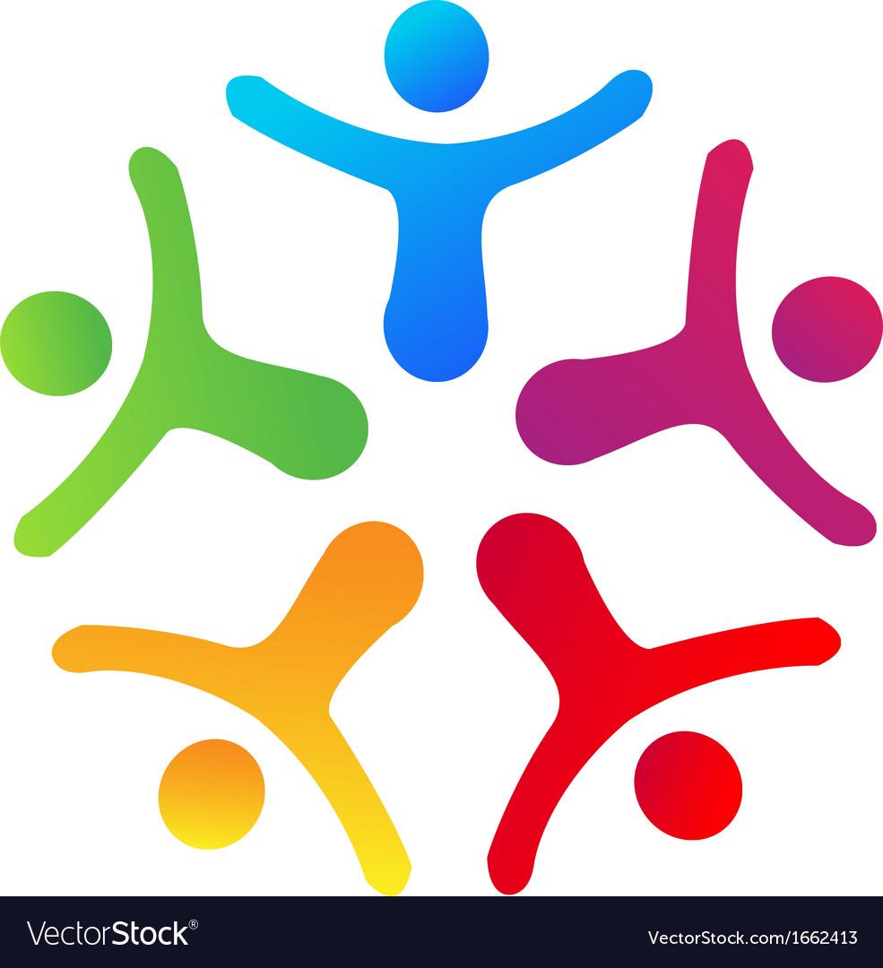 people union logo royalty free vector image vectorstock rh vectorstock com free logo vector design free logo vector vintage