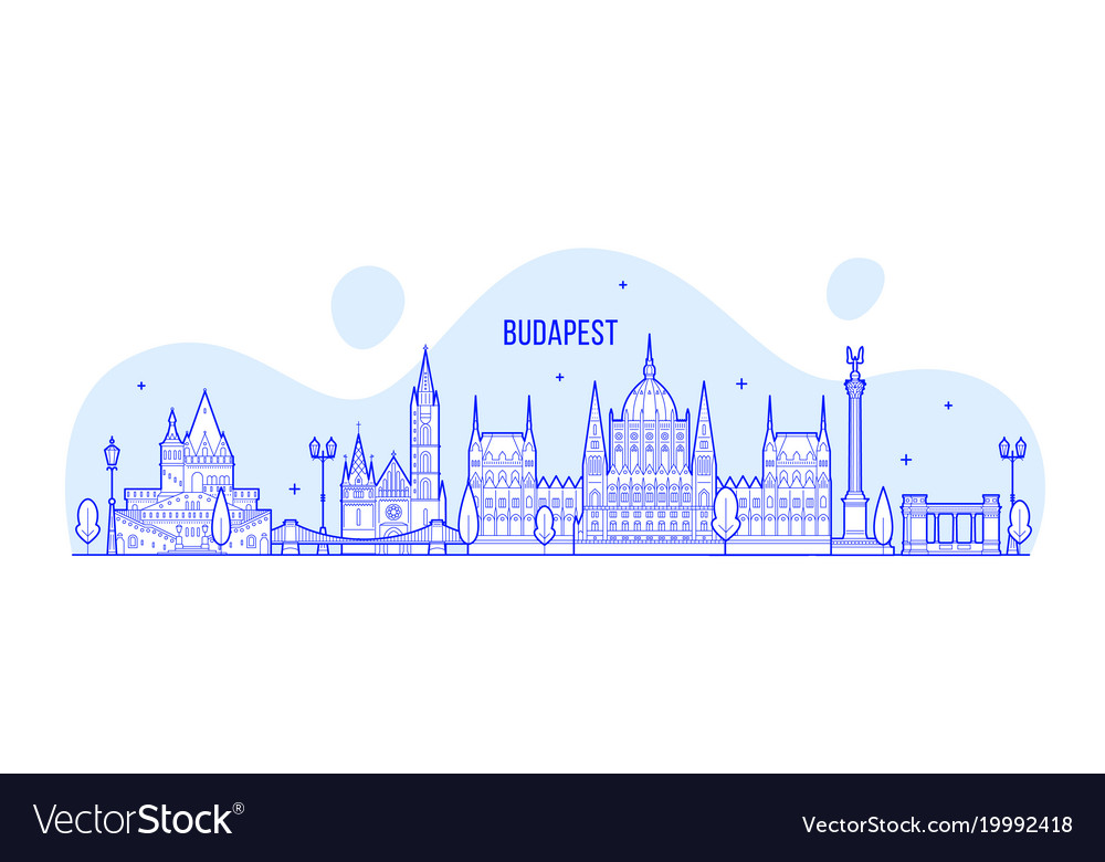 Budapest skyline hungary city buildings