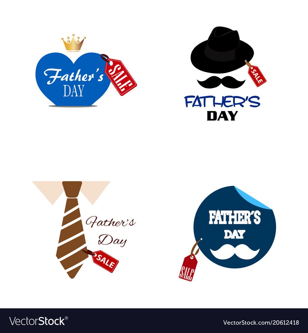 fathers day sale royalty free vector image vectorstock rh vectorstock com sale victoria secret sale victoria secret