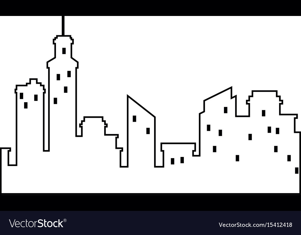 Isolated city view