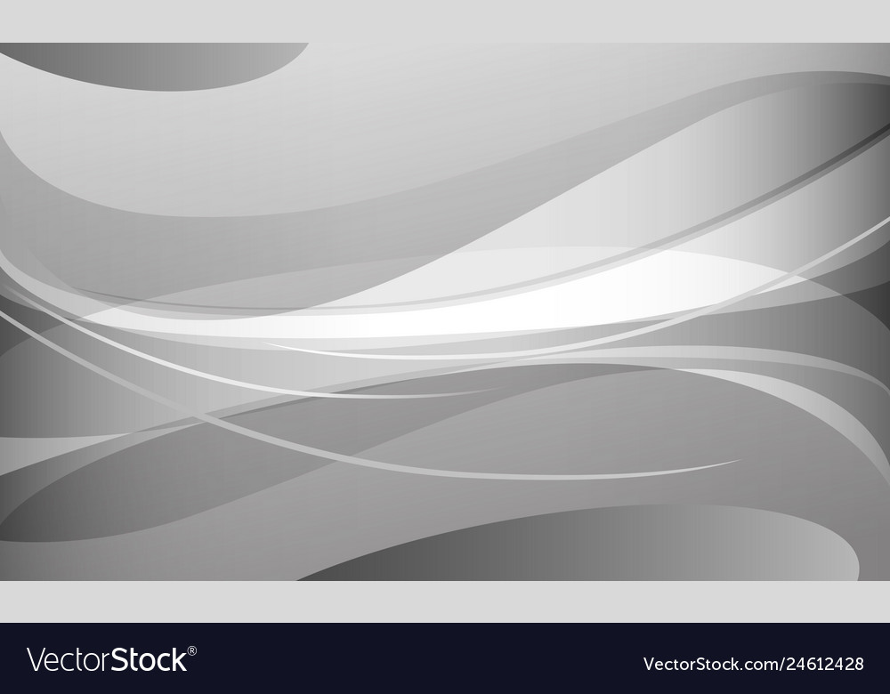 Abstract white and gray curve background
