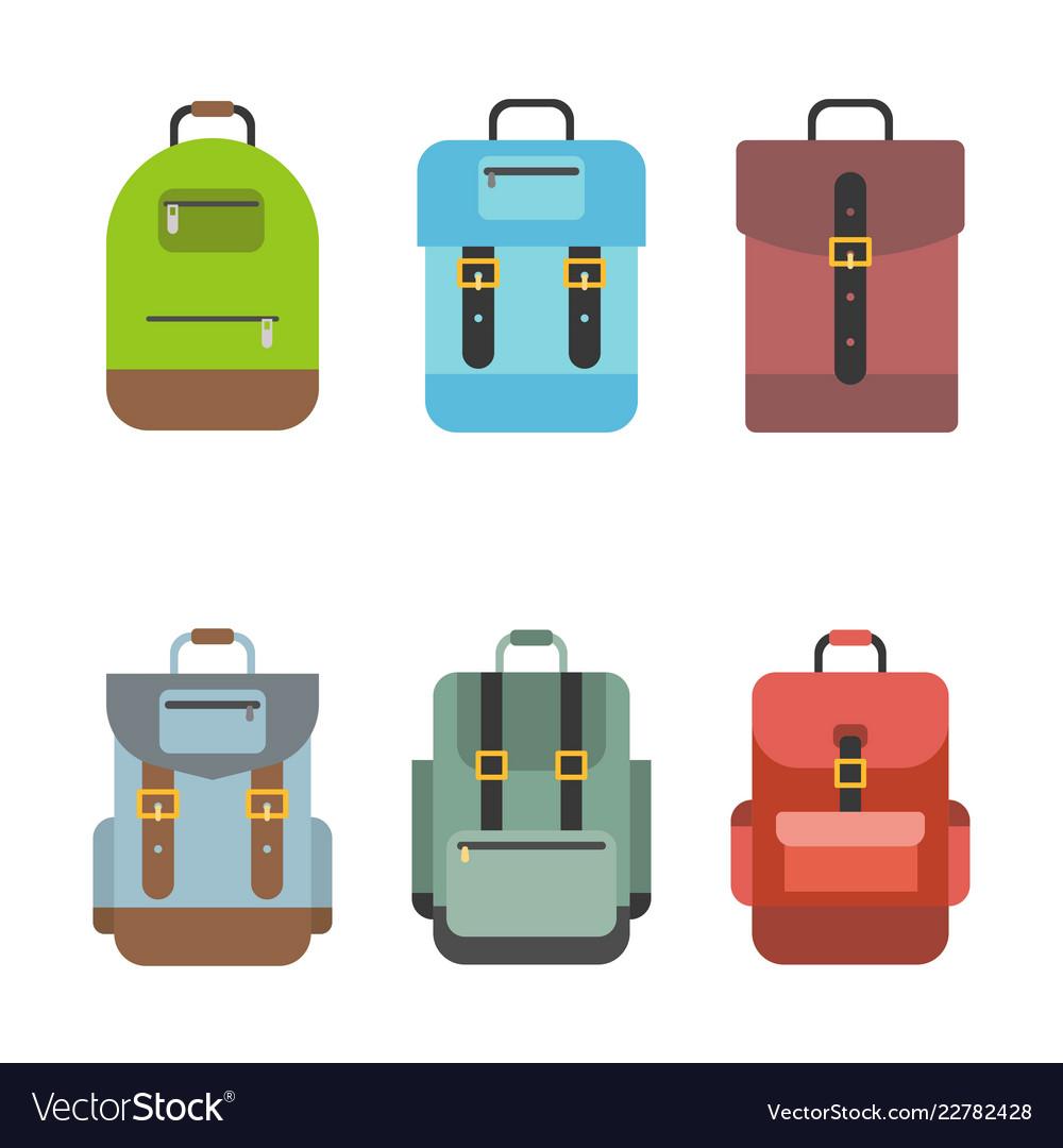 Bag icon include rucksack backpack school bag