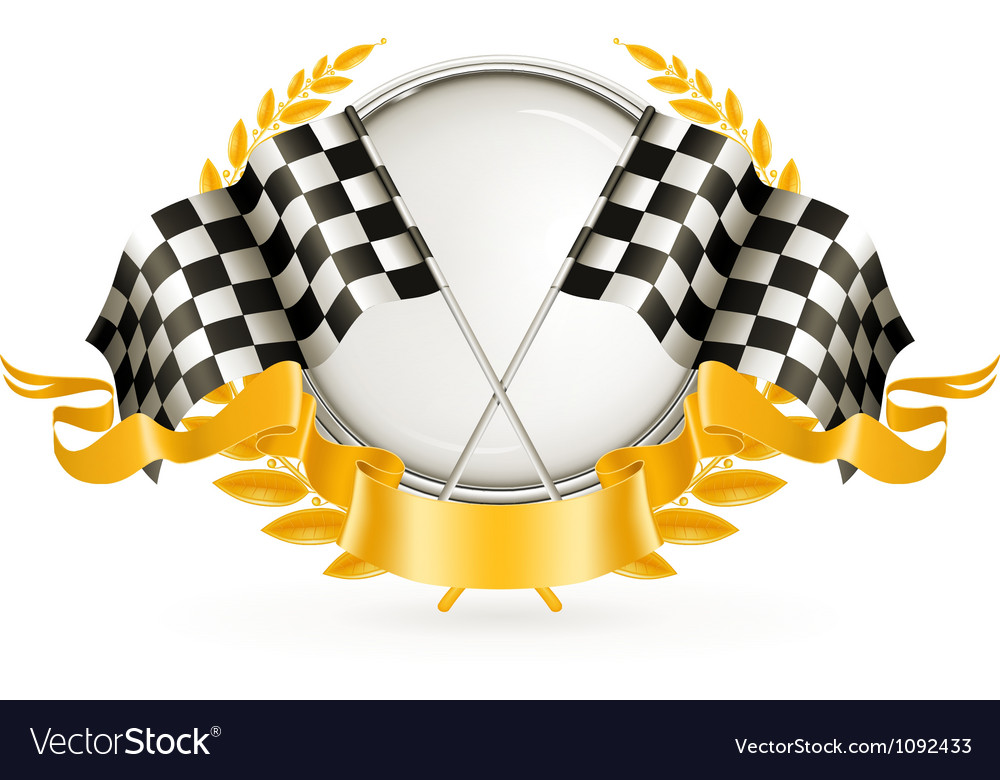 Silver Racing Emblem
