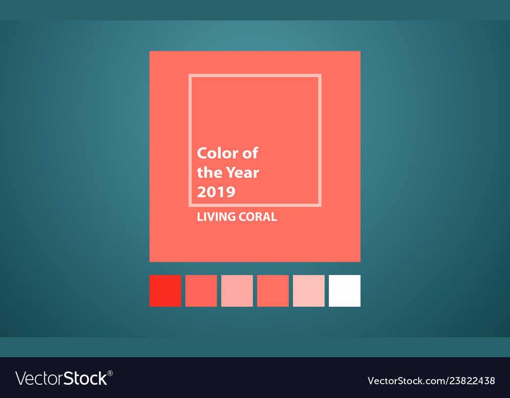Living coral color of the year