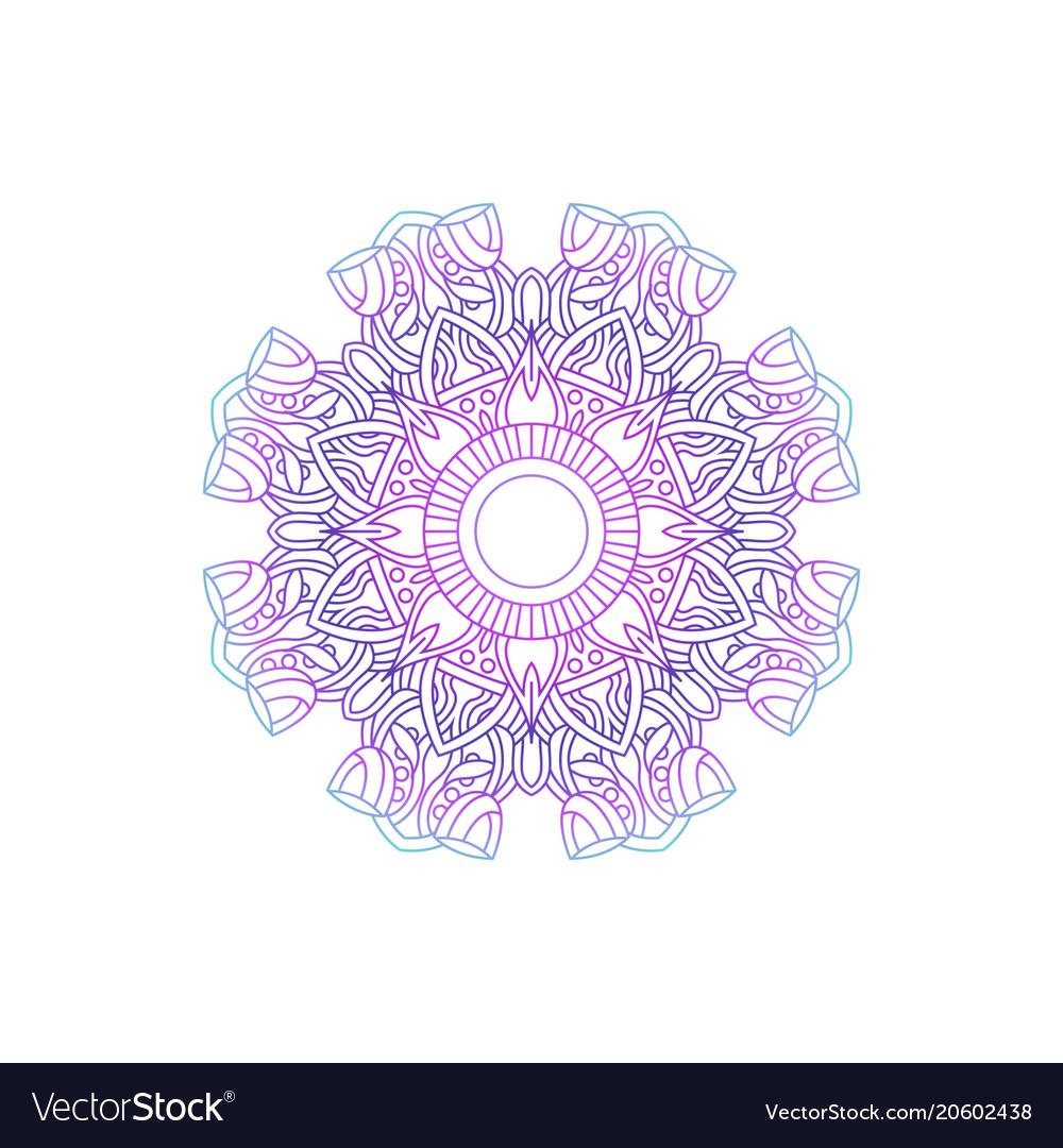 Mandala texture decoration ornament