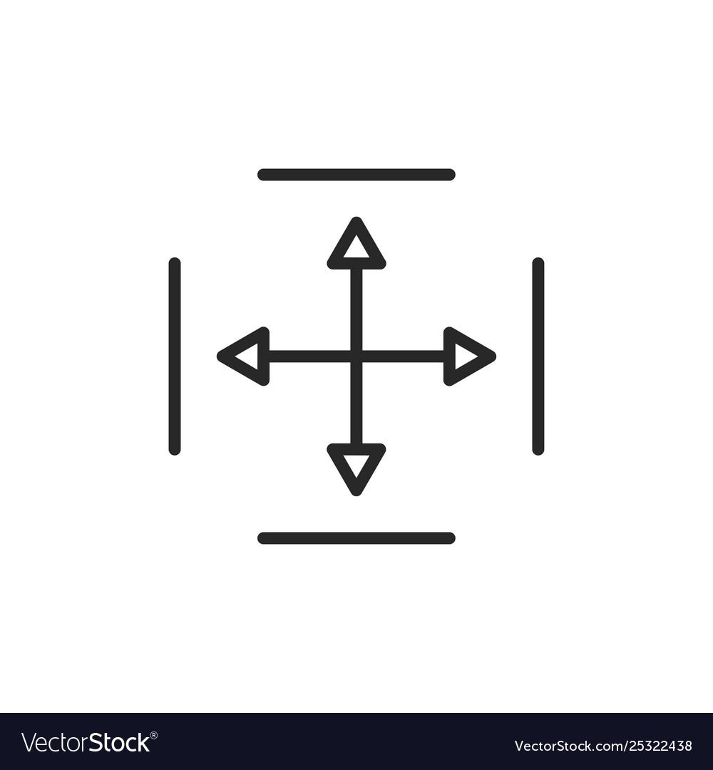 Move arrows icon