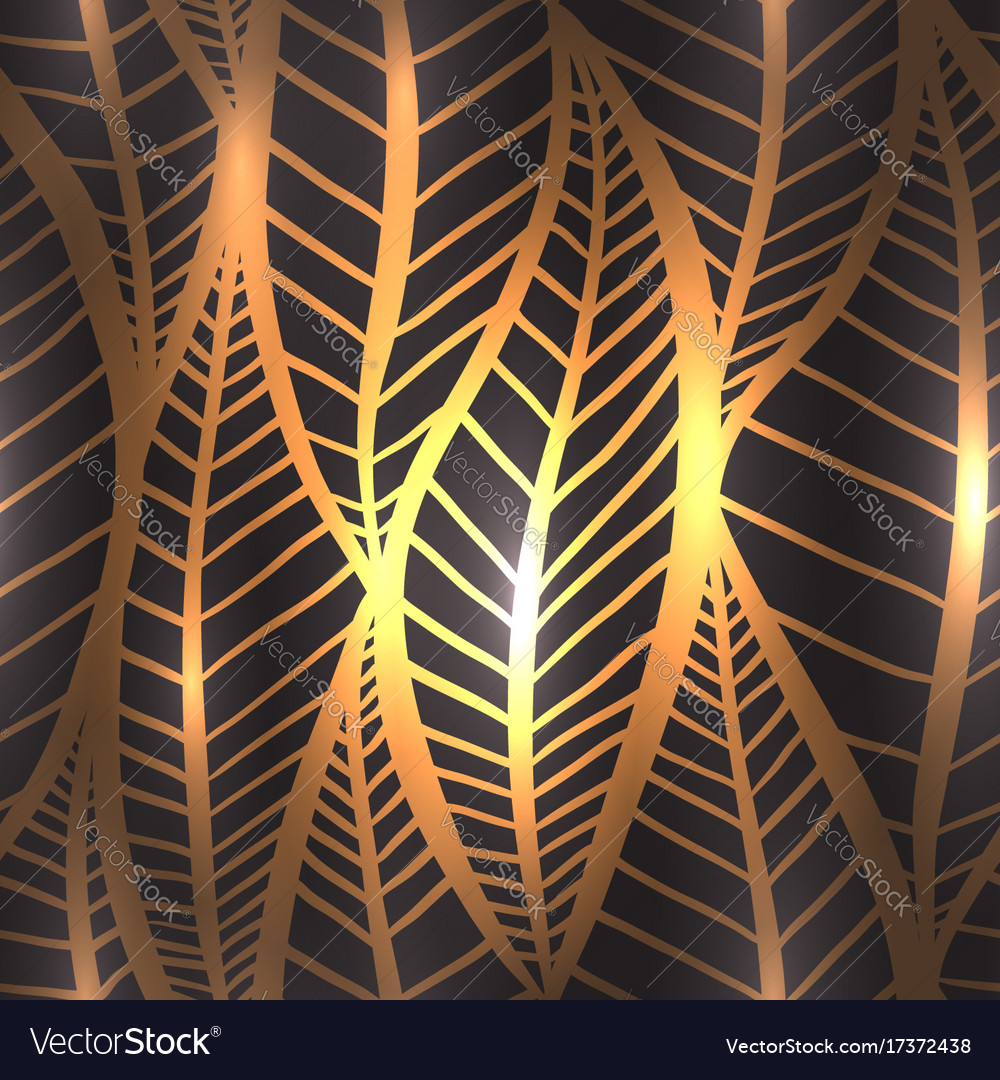 Seamless luxury texture with stylized golden