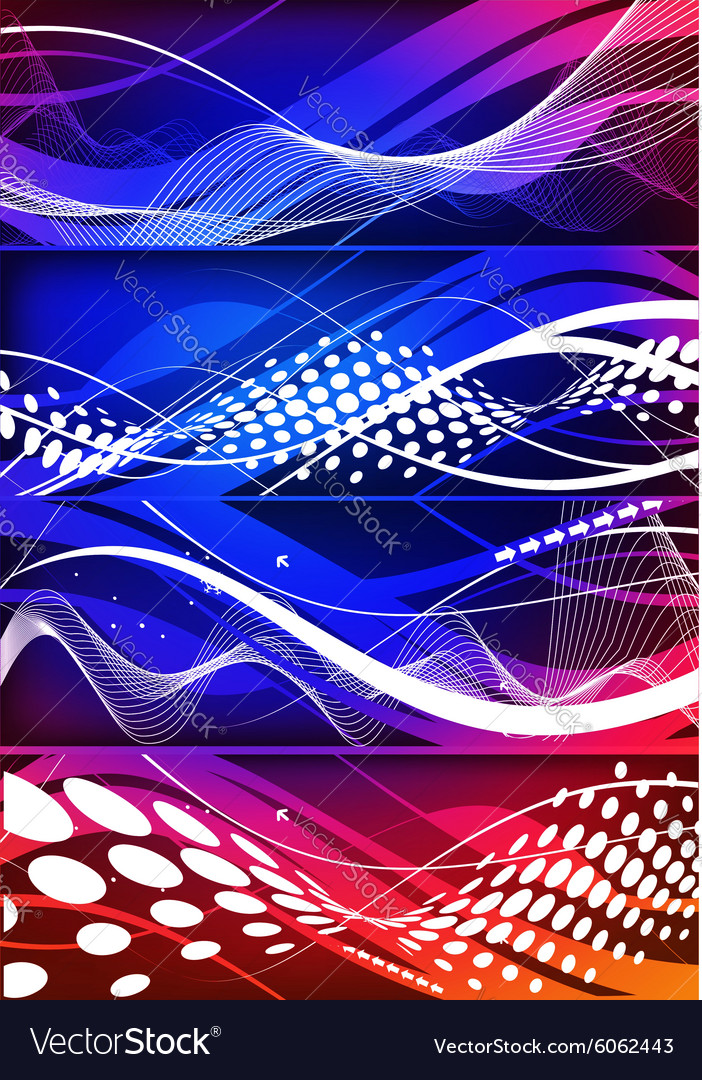 Abstract wave element